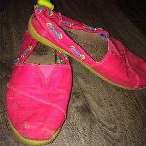 Hot pink bobs